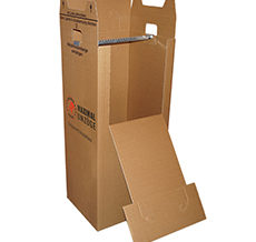 <b>Kleiderkarton (38 x 65 x 35 cm)<br> Neu: 20,00 € / Gebraucht: 10,00 €<b><br><small>Rückkauf: 5,00 €</small>